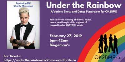 Under the Rainbow: A Variety Show and Dance Fundraiser for OK2BME