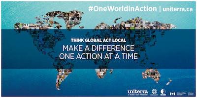 #OneWorldInAction Networking Evening/ Soirée réseautage #UnMondeEnAction
