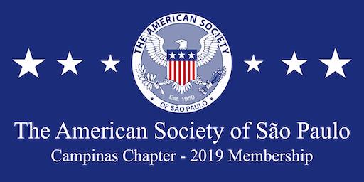 AmSoc Campinas Chapter - 2019 Membership