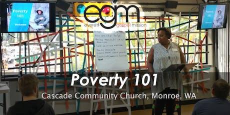 EGM Poverty 101 @ Cascade Community Church tickets