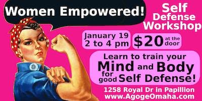 Women Empowered! Self Defense Workshop