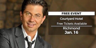 (FREE) Millionaire Success Habits revealed in Richmond by Dean Graziosi