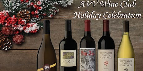 AVV Wine Club Holiday Celebration 2019 tickets