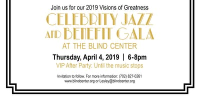 Celebrity Jazz and Benefit Gala - Visions of Greatness