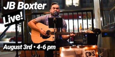 Live Music: JB Boxter
