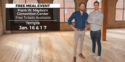 (Free) Millionaire Wealth Real Estate Event in Temple by HGTV's Drew and Danny