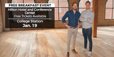 (Free) Millionaire Wealth Real Estate Event in College Station by HGTV's Drew and Danny