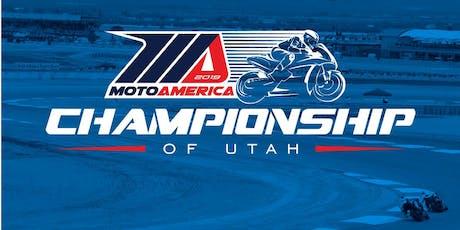 2019 MotoAmerica Championship of Utah  tickets