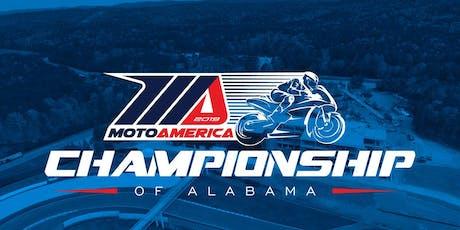 2019 MotoAmerica Championship of Alabama  tickets