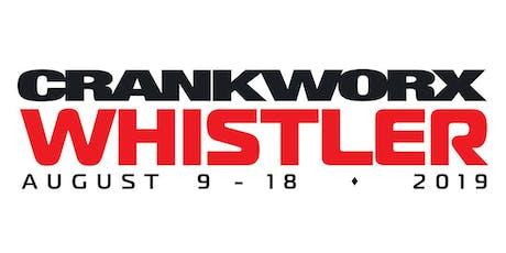 Crankworx Whistler 2019 tickets