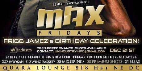 MAX Fridays tickets
