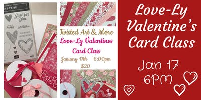 Stampin' Up! Love-Ly Valentine's Card Class