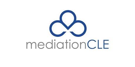 Oct 24-26, 2019 - GENERAL/CIVIL MEDIATION Seminar (CLE) - Huntsville, AL tickets