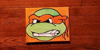 Ninja Turtles Paint Experience