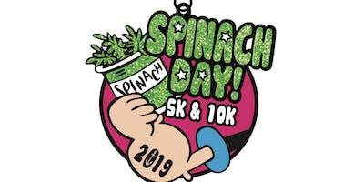 2019 Spinach Day 5K & 10K Winston-Salem