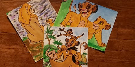 The Lion King Paint Experience tickets