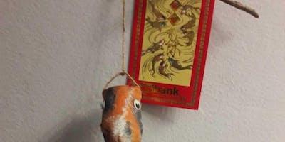 Koi Fish Paper Craft (16+)