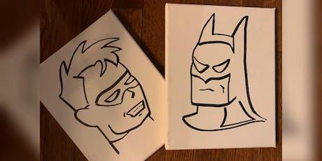Batman Paint Experience tickets