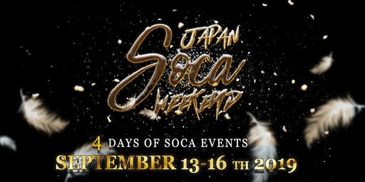 Japan Soca Weekend 2019 Pass