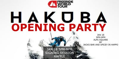 FWT Hakuba Opening Party