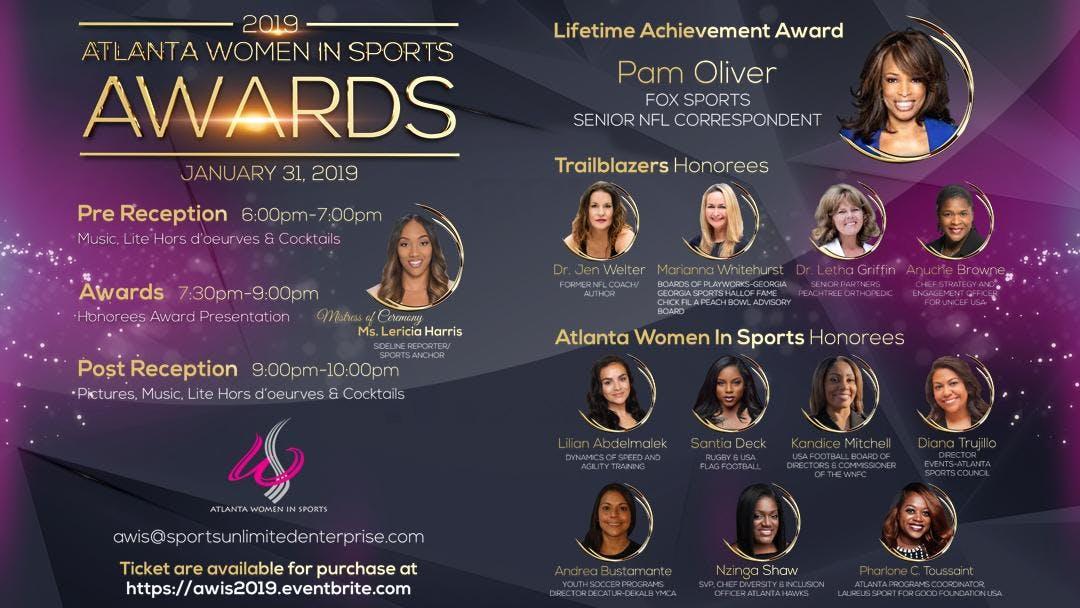 Atlanta Women In Sports Awards