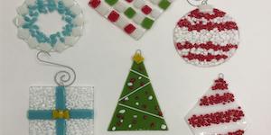 Kiln Forming: Ornament Workshop   2019