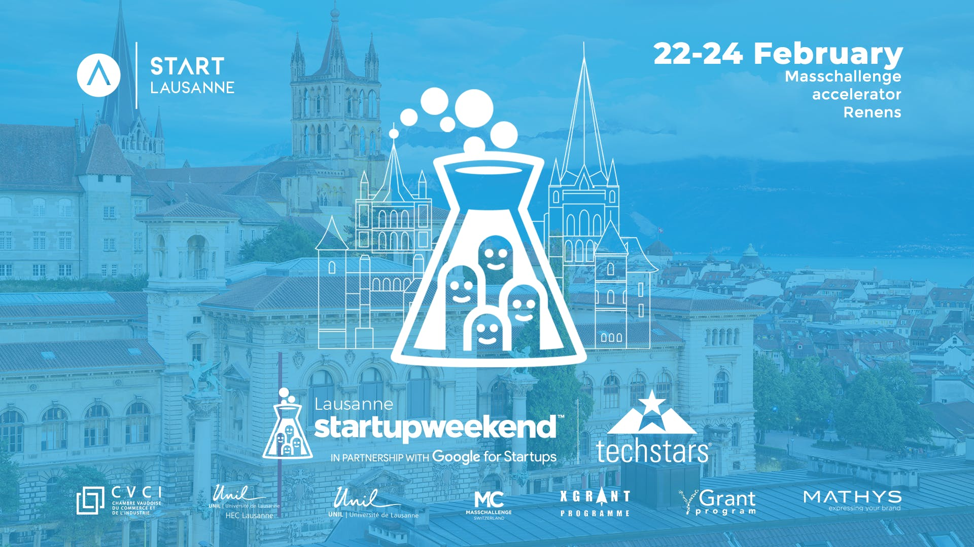 Techstars Startup Weekend Lausanne 02/19