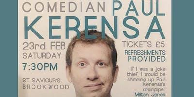 An Evening with Comedian Paul Kerensa