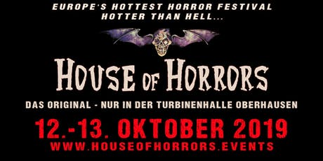 House of Horrors 2019 Tickets