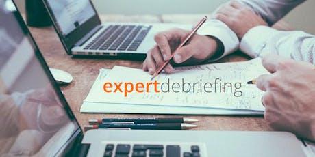 Expert Debriefing Moderatoren-Seminar 13.-14.11.2019 Tickets