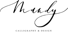 Mandy Calligraphy & Design logo