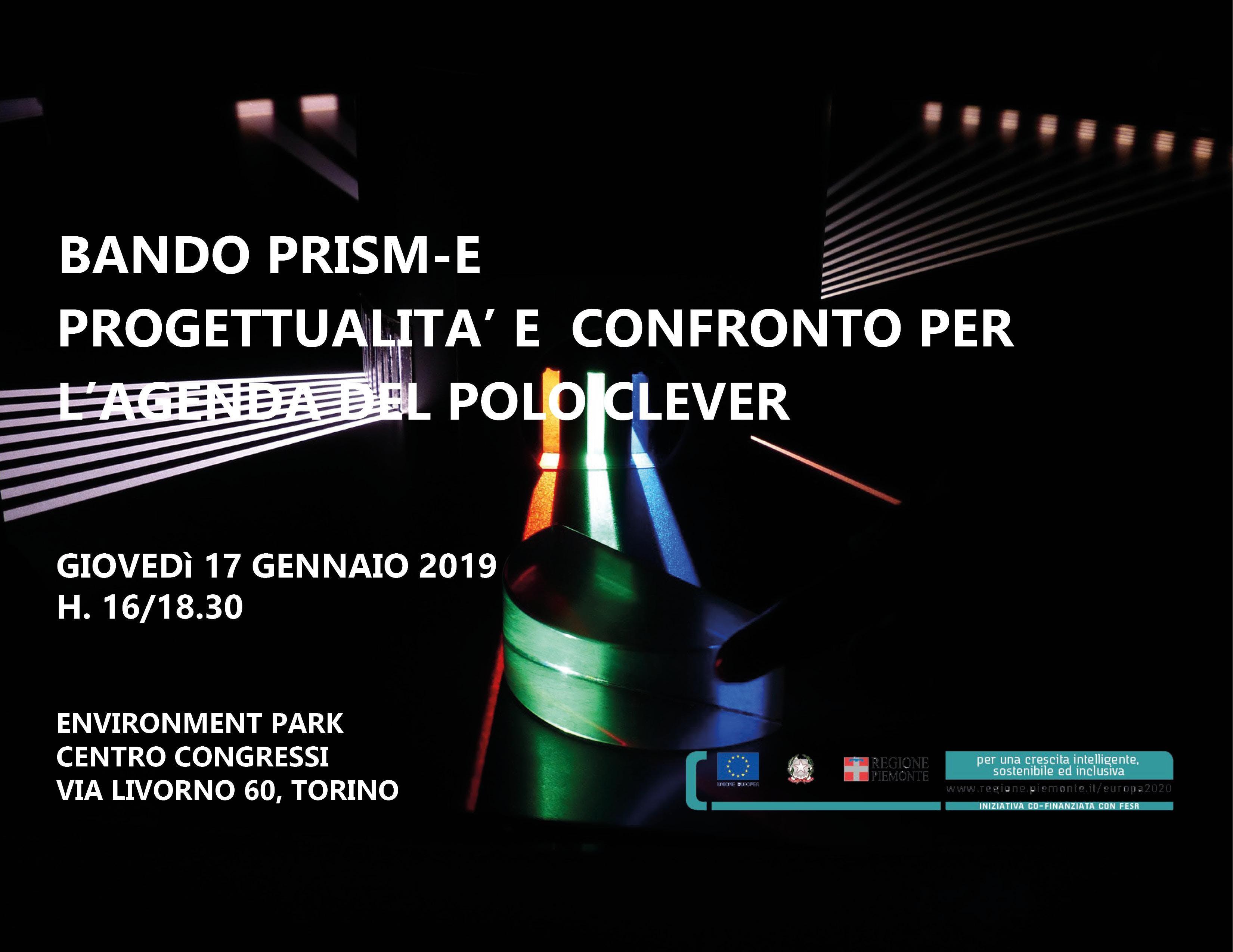 Bando PRISM-E: progettualità e confronto per