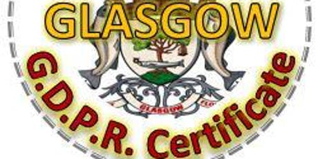 GDPR Practitioner Course - GLASGOW - 5 days, over 5 weeks tickets