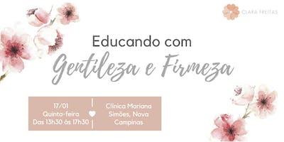 Workshop Vivencial – Educando com Gentileza e Firmeza (17/01)