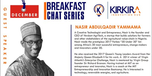 Breakfast Chat with Nasir Yammama - December, 2018