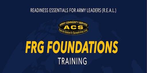 R.E.A.L. Foundations Training