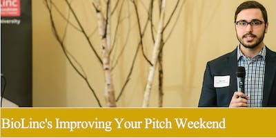 BioLinc's Improving Your Pitch Weekend 2019