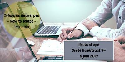 Infosessie - How to Tentoo - Antwerpen