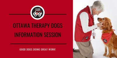 Ottawa Therapy Dogs Information Session (Step One)