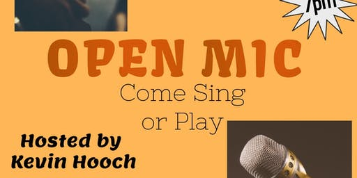 Open Mic at Tucked Away Brewing