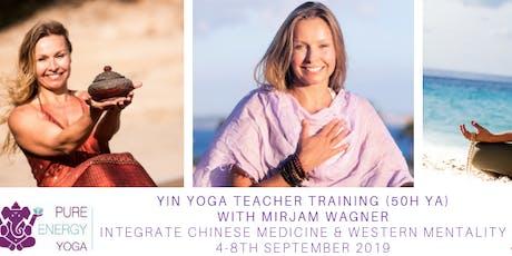 Yin Yoga Training with Mirjam Wagner Utrecht (50h YA) tickets