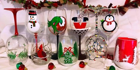 Wine Glass Painting Class at Oak Knoll Winery tickets