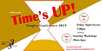 Time's Up Singles Conference