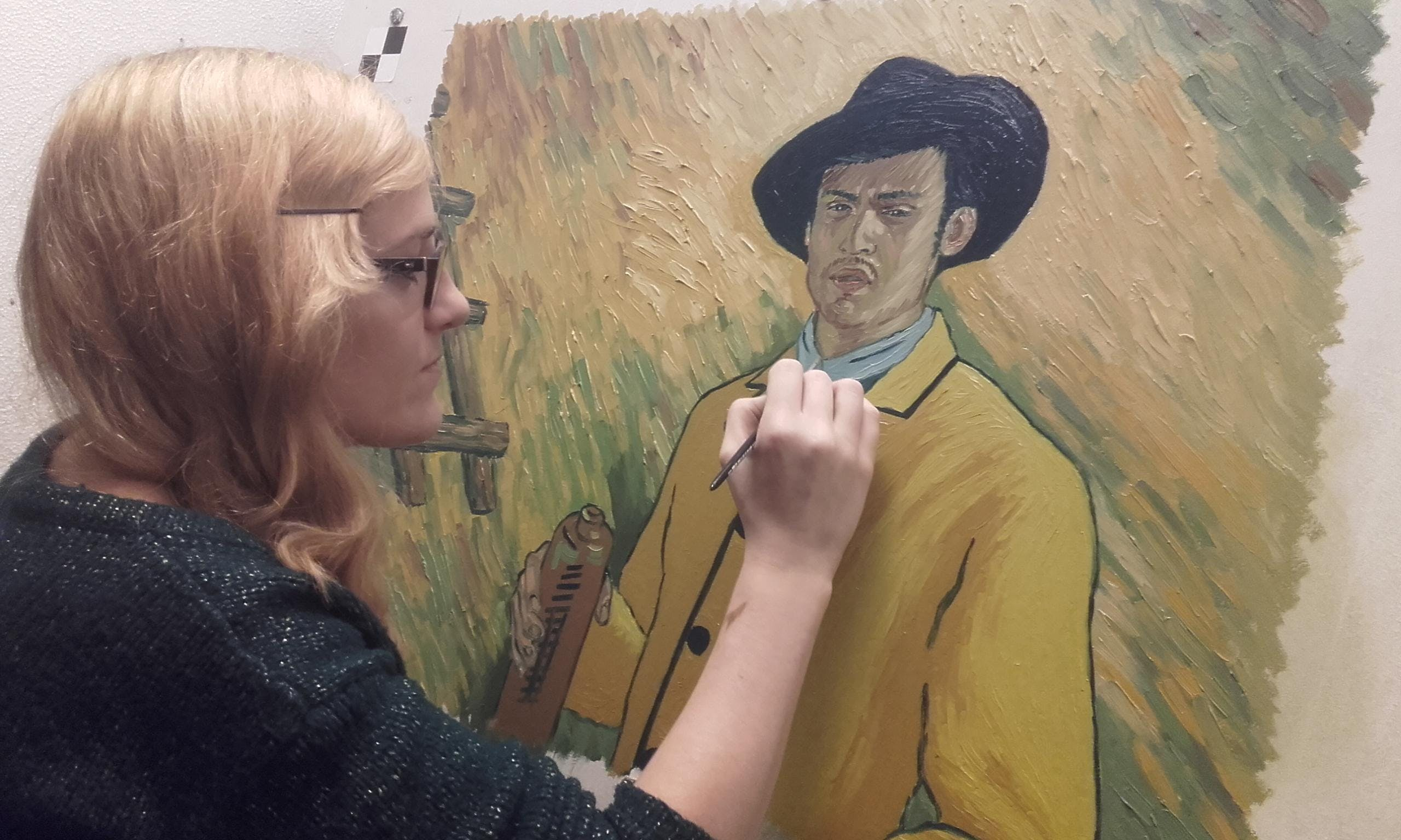 SANDRA HICKEY – WHERE TWO STYLES MEET – LOVING VINCENT INSPIRED