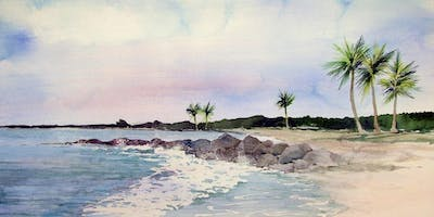3 Half Days: Exploring the Island in Watercolor with Chris Dreyer
