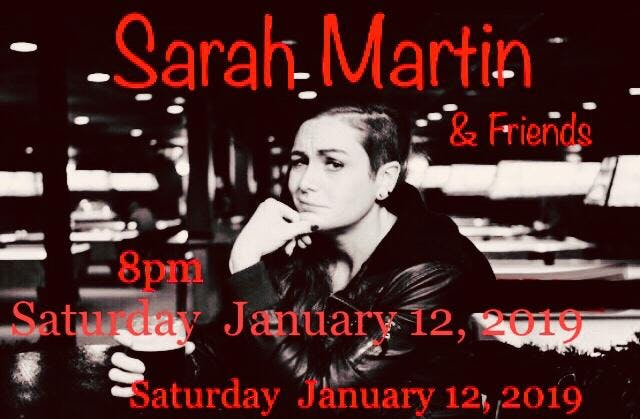The Gutter Boyz Present: Sarah Martin & Friends