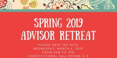 Spring 2019 Advisor Retreat