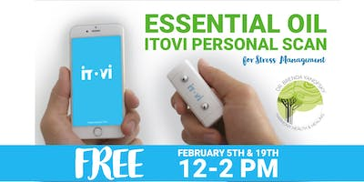 Essential Oil ITOVI Personal Scan for Stress Management