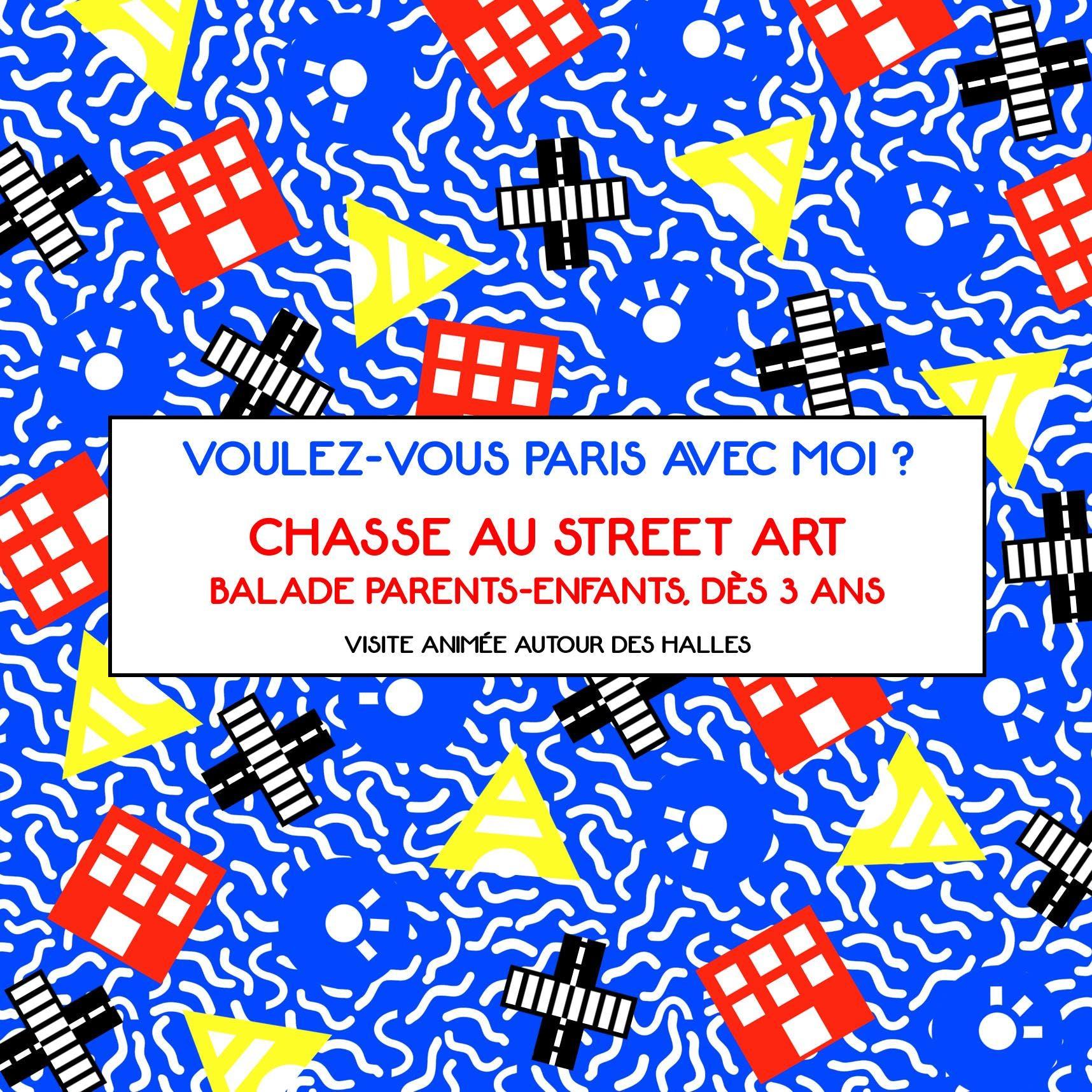 CHASSE AU STREET ART - Visite guidée Parents-