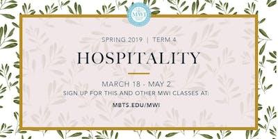 MWI Hospitality Course